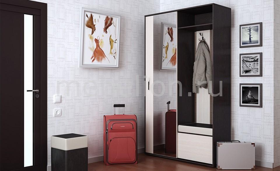 Гарнитур для прихожей Мебель Трия Стенка для прихожей Пикассо 4 венге цаво/дуб белфорт набор мебели для прихожей пикассо 2 1