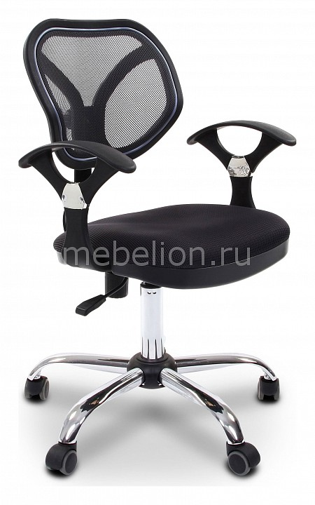 Кресло компьютерное Chairman 380 черный/хром, черный  дешевые комоды тумбочки