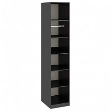 Шкаф для белья Токио СМ-131.07.001 венге цаво/венге цаво/дуб белфорт