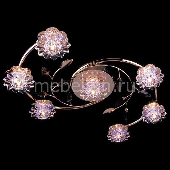 Потолочная люстра Eurosvet 5136/7 золото/фиолетовый