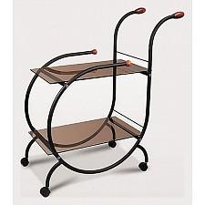 Стол сервировочный Мебелик Зеро черный