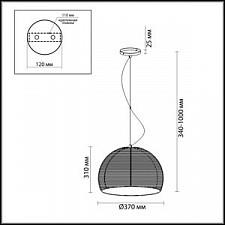 Подвесной светильник Odeon Light 2490/3