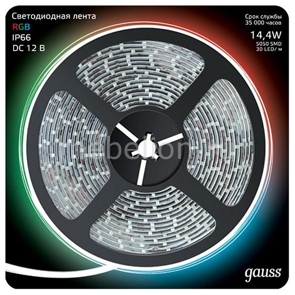 Лента светодиодная Gauss Gauss 311000414 лента светодиодная gauss 311000414