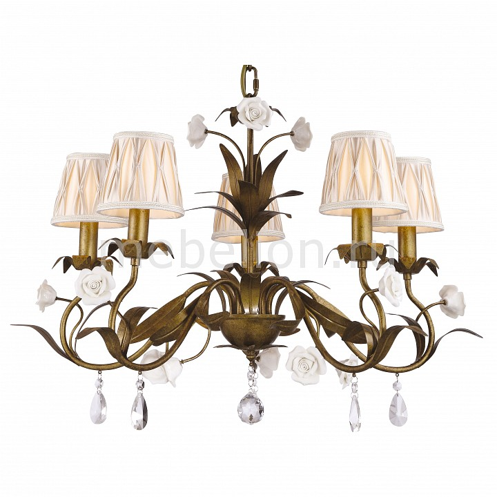 Подвесная люстра Arte Lamp A1865LM-5BZ Latta