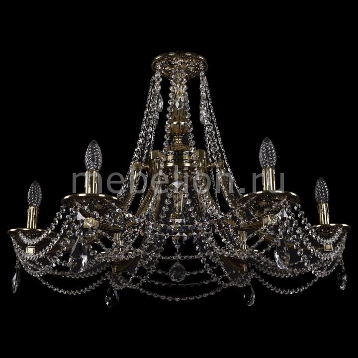Подвесная люстра Bohemia Ivele Crystal 1771/6/270/A/GB 1771