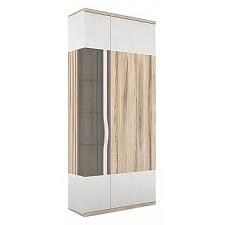 Шкаф комбинированный Любимый Дом Марта 635.030 белый/дезира эш