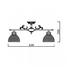 Люстра на штанге Maytoni ARM030-05-G Elegant 48