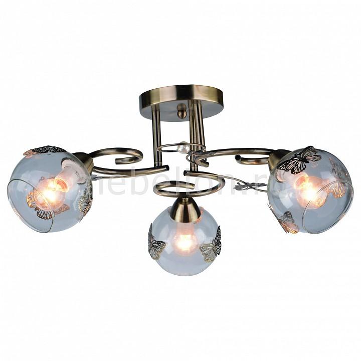 все цены на  Люстра на штанге Arte Lamp Alessandra A5004PL-3AB  онлайн