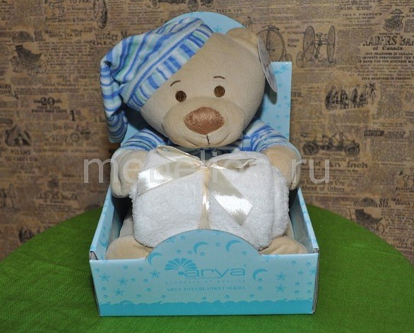 Плед детский AryaLovely Bear AR_F0008176Артикул - AR_F0008176,Бренд - Arya (Турция),Размер - детский,В комплекте - Плед ,75 x 75 см, 1 шт.,белый цв. ,Мягкая игрушка ,1 шт.,голубой цв. ,Материал - полиэстер 100%,Тип ткани - микрофибра,Тема отделки - фауна,Упаковка - коробка картонная<br><br>Артикул: AR_F0008176<br>Бренд: Arya (Турция)<br>Размер: детский<br>В комплекте: Плед ,75 x 75 см, 1 шт.,белый цв. ,Мягкая игрушка ,1 шт.,голубой цв. ,,<br>Материал: полиэстер 100%<br>Тип ткани: микрофибра<br>Тема отделки: фауна<br>Упаковка: коробка картонная