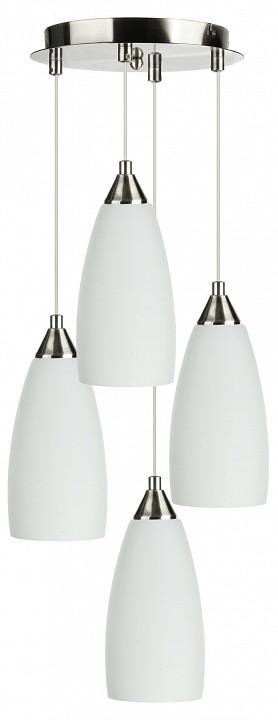 Подвесной светильник 33 идеи PND.101.04.01.NI+S.03.WH(4) зеркало evoform lumline 50х100 см со встроенным lum светильником 12 w by 2009