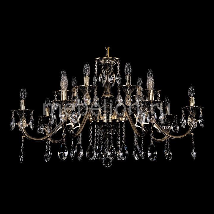 Подвесная люстра Bohemia Ivele Crystal 1703/14/360/A/GB 1703