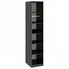 Шкаф для белья Токио СМ-131.07.004 венге цаво/венге цаво/дуб сонома