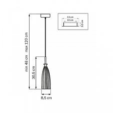 Подвесной светильник Lightstar 810010 Simple Light 810