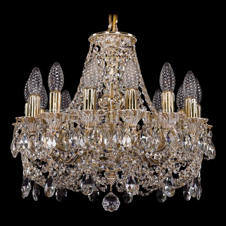 Подвесная люстра Bohemia Ivele Crystal 1707/14/125/C/GW 1707