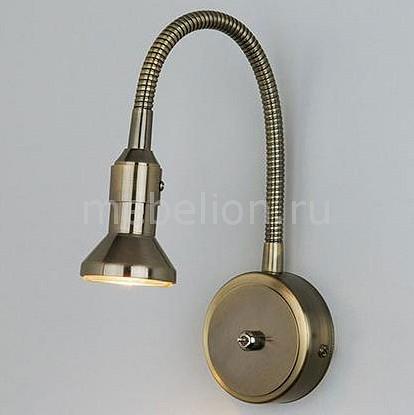 Купить Бра 1215 Plica MR16 бронза/золото, Eurosvet, Китай