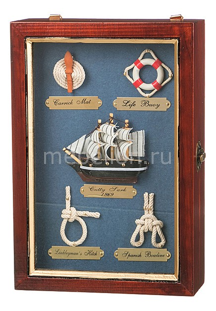 Ключница АРТИ-М (18х26 см) Морской узел 271-004 арти м 45 см парусник 271 077