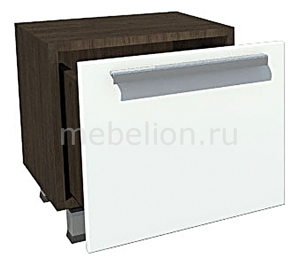 Тумба Фортуна Г1-2 зебра вуд/белый mebelion.ru 3466.000