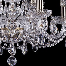 Подвесная люстра Bohemia Ivele Crystal 1402/6_3/195/Pa 1402