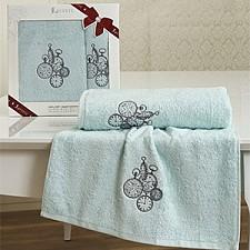 Набор из 2 полотенец для ванной NATALİA