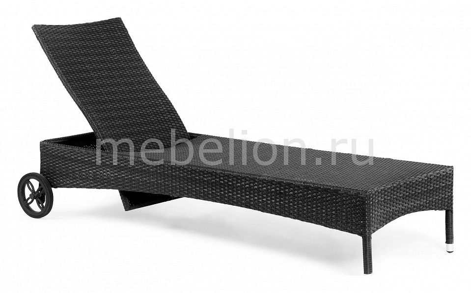 Шезлонг Olympia 3507-8 черный mebelion.ru 18090.000