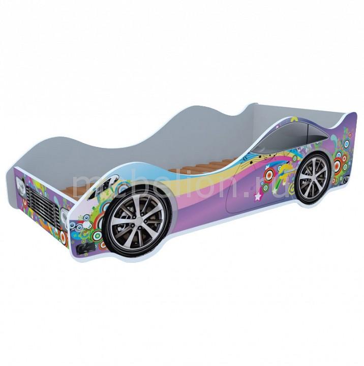 Кровать-машина Кровати-машины Радуга M051