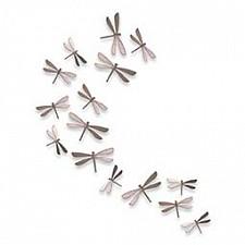 Фигура настенная Umbra Набор фигур настенных (30.5х22.4см) Wallflutter 470070-558