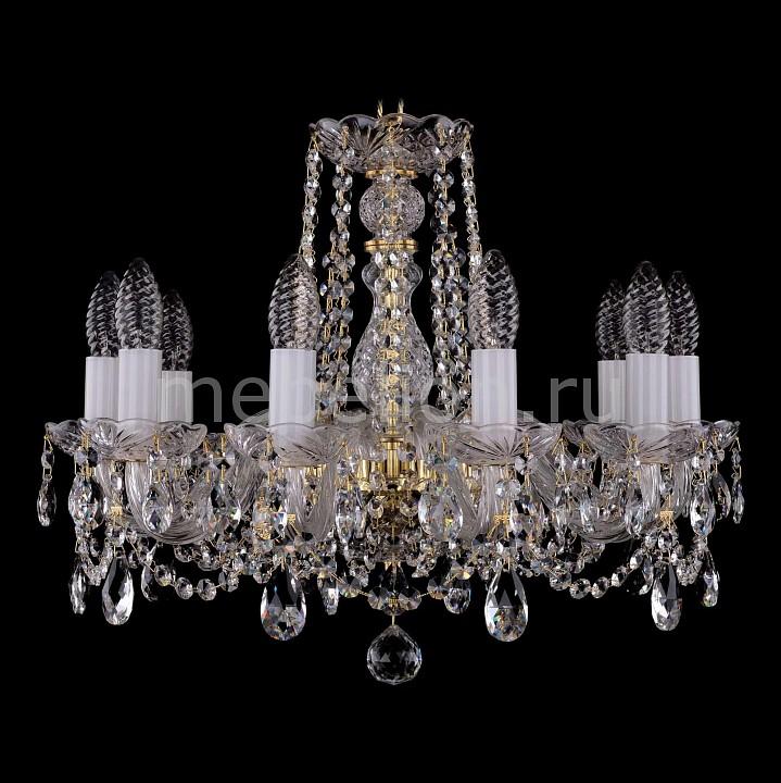 Подвесная люстра Bohemia Ivele Crystal 1402/10/160/G 1402