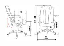 Кресло компьютерное T-898AXSN черное
