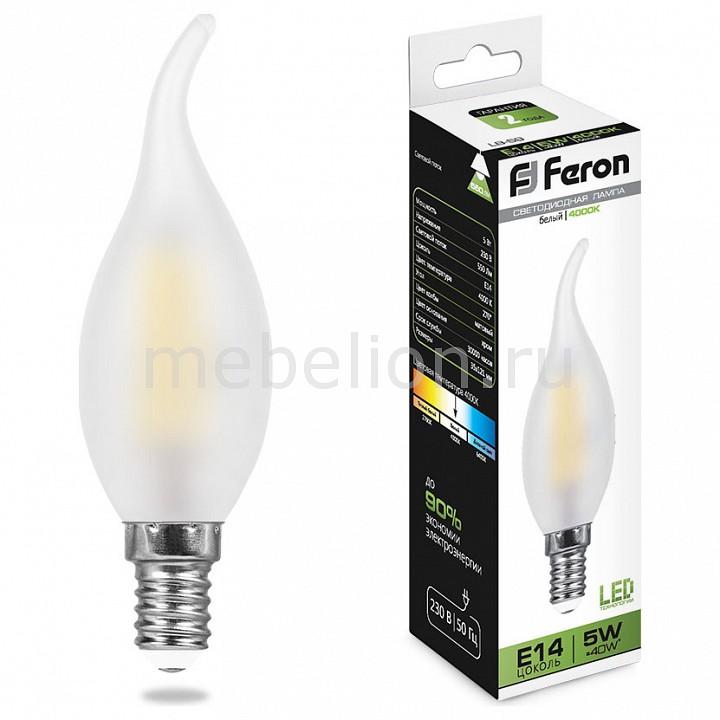 Лампа светодиодная Feron Saffit LB-59 E14 230В 5Вт 4000K 25650 цена