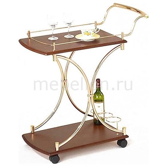 Стол сервировочный 5012 золото/коричневый mebelion.ru 4186.000