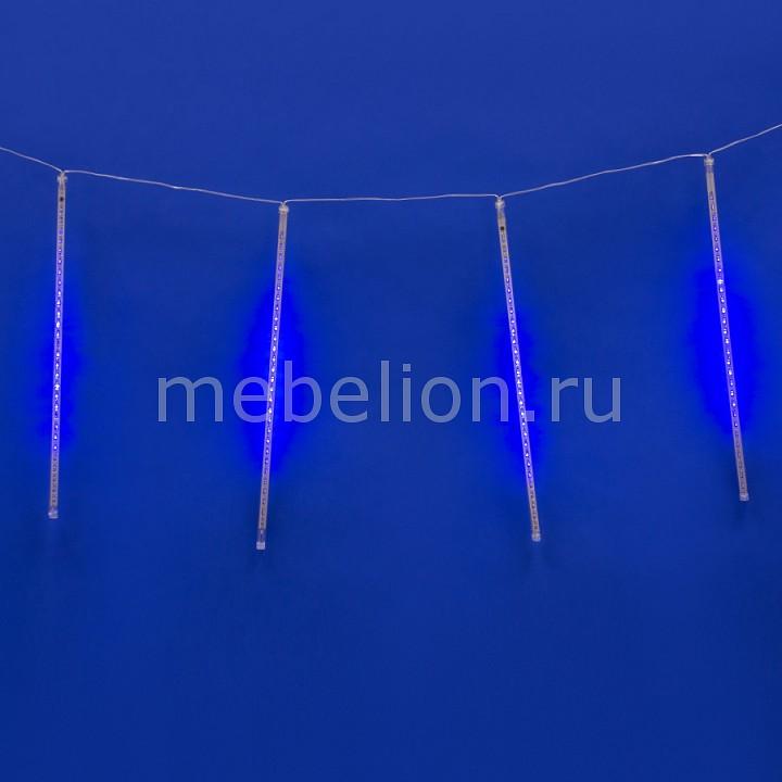 Занавес световой (2.4x0.5 м) Uniel Meteor ULD-E2405-240/DTK BLUE IP44 METEOR