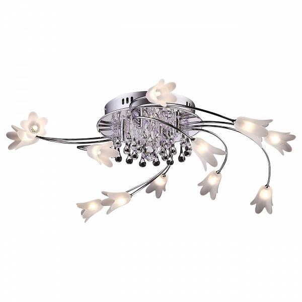 Потолочная люстра Arte LampRiccio A3103PL-12-1CCАртикул - AR_A3103PL-12-1CC,Бренд - Arte Lamp (Италия),Серия - Riccio,Гарантия, месяцы - 24,Время изготовления, дней - 1,Рекомендуемые помещения - Гостиная, Кабинет, Спальня,Высота, мм - 230,Диаметр, мм - 650,Цвет плафонов и подвесок - белый, неокрашенный,Цвет арматуры - хром,Тип поверхности плафонов и подвесок - матовый, прозрачный,Тип поверхности арматуры - глянцевый,Материал плафонов и подвесок - стекло,Материал арматуры - металл,Лампы - галогеновая,цоколь G4; 12 В; 20 Вт,цвет: белый теплый, 2800-3200 K,Сопоставление с лампой накаливания - на 50%,Тип колбы лампы - пальчиковая,Класс электробезопасности - I,Напряжение питания, В - 220,Общая мощность, Вт - 260,Лампы в комплекте - галогеновые G4,Общее кол-во ламп - 13,Количество плафонов - 13,Наличие выключателя, диммера или пульта ДУ - пульт ДУ,Компоненты, входящие в комплект - трансформатор 12В,Степень пылевлагозащиты, IP - 20,Диапазон рабочих температур - комнатная температура,Дополнительные параметры - светильник декорирован светодиодами, способ крепления светильника к потолку – на монтажной пластине<br><br>Артикул: AR_A3103PL-12-1CC<br>Бренд: Arte Lamp (Италия)<br>Серия: Riccio<br>Гарантия, месяцы: 24<br>Время изготовления, дней: 1<br>Рекомендуемые помещения: Гостиная, Кабинет, Спальня<br>Высота, мм: 230<br>Диаметр, мм: 650<br>Цвет плафонов и подвесок: белый, неокрашенный<br>Цвет арматуры: хром<br>Тип поверхности плафонов и подвесок: матовый, прозрачный<br>Тип поверхности арматуры: глянцевый<br>Материал плафонов и подвесок: стекло<br>Материал арматуры: металл<br>Лампы: галогеновая,цоколь G4; 12 В; 20 Вт,цвет: белый теплый, 2800-3200 K<br>Сопоставление с лампой накаливания: на 50%<br>Тип колбы лампы: пальчиковая<br>Класс электробезопасности: I<br>Напряжение питания, В: 220<br>Общая мощность, Вт: 260<br>Лампы в комплекте: галогеновые G4<br>Общее кол-во ламп: 13<br>Количество плафонов: 13<br>Наличие выключателя, диммера или пульта ДУ: пульт ДУ<br>Компоненты, входящие 