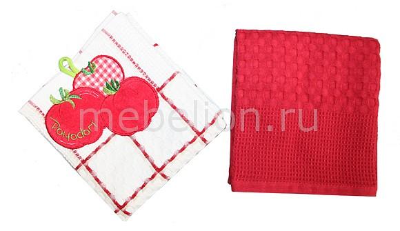 Набор полотенец для кухни Bonita Набор из 2 полотенец для кухни Фрукты, овощи la pastel набор полотенец 4пр фрукты
