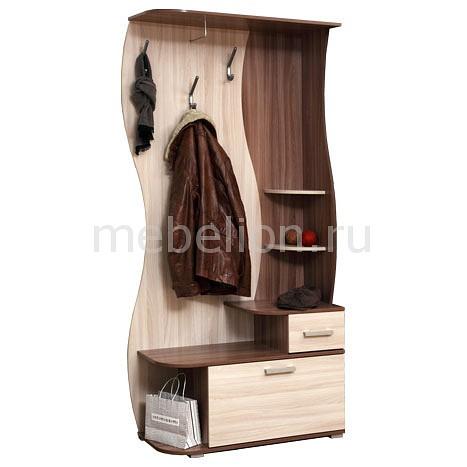 Вешалка с тумбой Олимп-мебель Визит-М10 прихожая визит 1