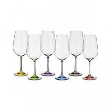 Набор для вина АРТИ-М из 6 шт. Rainbow 674-414