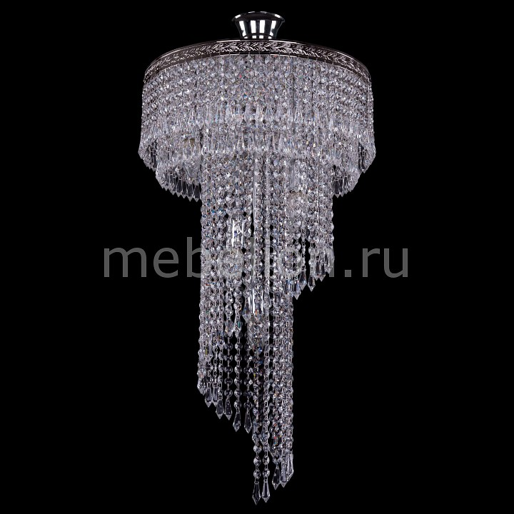 Люстра на штанге Bohemia Ivele Crystal 8311/40/70/Ni 8311