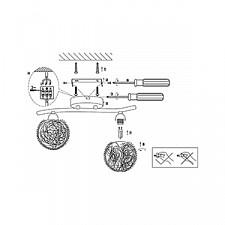 Накладной светильник Globo 56620-2 Enigma