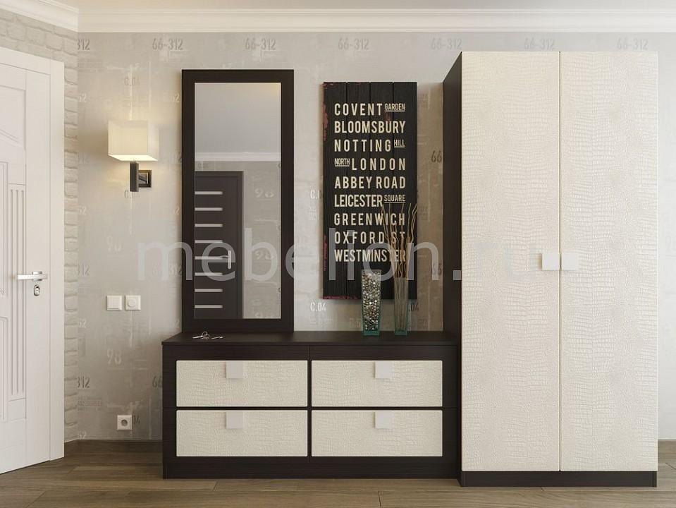 Стенка для прихожей Компасс-мебель Александрия премиум зеркало александрия премиум