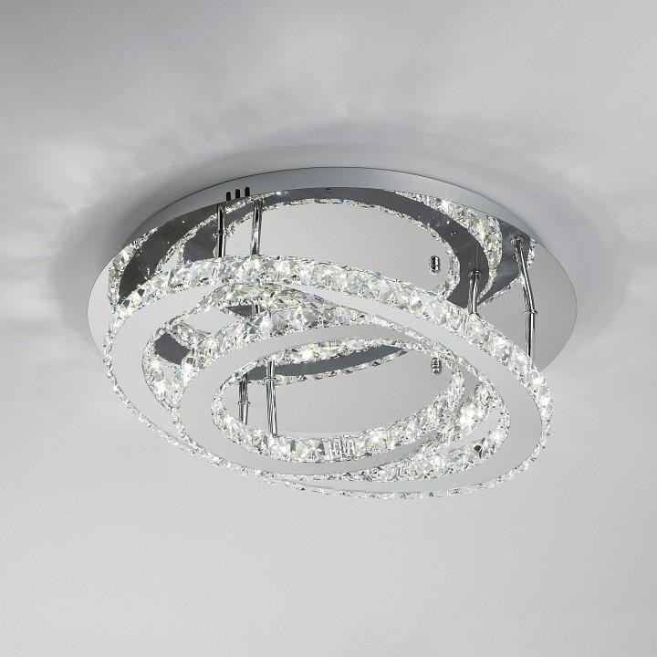 Купить Накладной светильник Grasia 90066/2 хром 24W, Мегаполис, Китай