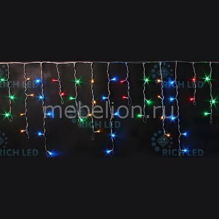Бахрома световая (3х0.5 м) RichLED RL-i3*0.5F-RW/M бахрома световая 3х0 5 м richled rl i3 0 5 rw ww