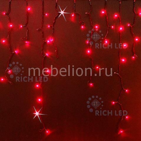 Бахрома световая (3х0.9 м) RichLED RL-i3*0.9F-B/R richled снежинка световая 0 4 м rl sf40 b