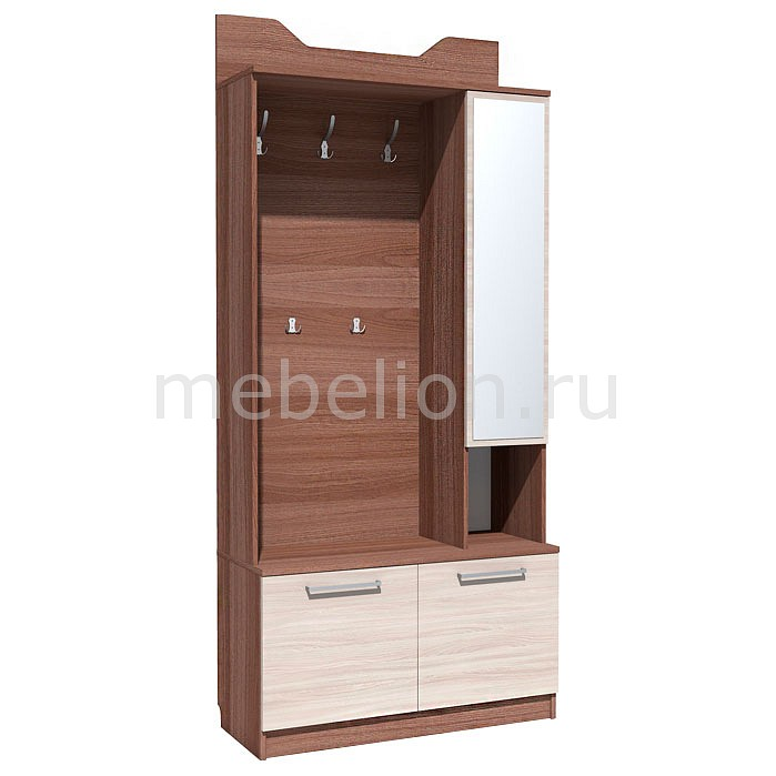 Купить Стенка для прихожей Рива 2 НМ 013.34, Сильва, Россия
