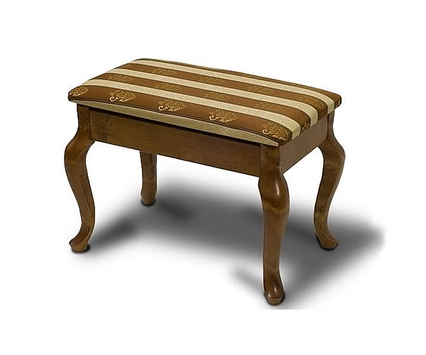 Банкетка Ретро (с ящиком) средне-коричневый mebelion.ru 1910.000
