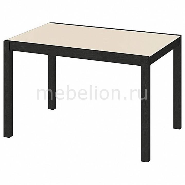 Стол обеденный Мебель Трия Диез Т4 С-345 венге/белый стол обеденный мебель трия диез т5 с 302 1 венге дуб сильвер