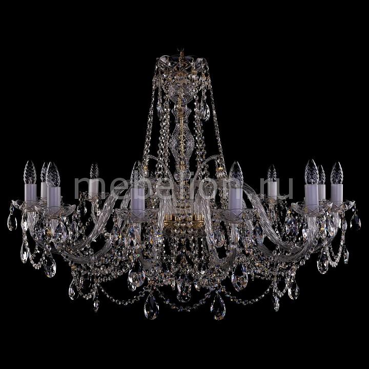 Подвесная люстра Bohemia Ivele Crystal 1411/12/380-72/G 1411