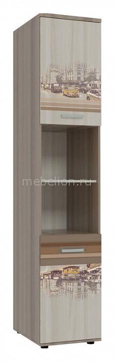 Шкаф комбинированный Mebelson Манхэттен MDM-003 надстройка mebelson манхэттен mdm 011