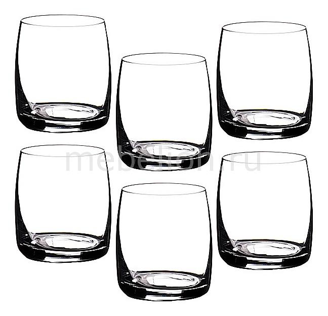 Набор стаканов АРТИ-М Набор из 6 стаканов Идеал 669-051 набор стаканов идеал 6шт 380мл вода отводка золото стекло