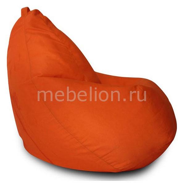 Кресло-мешок Фьюжн оранжевое I  тумба для обуви в прихожую зеркальная
