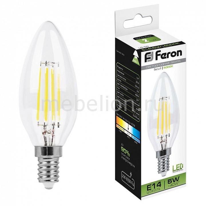 Лампа светодиодная Feron LB-58 E14 230В 5Вт 4000K 25573 цена