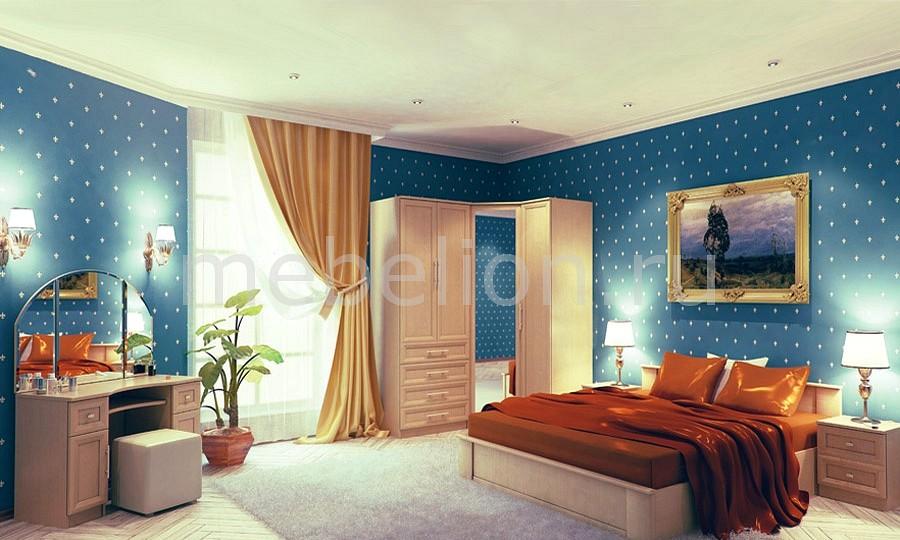 Гарнитур для спальни Юлианна 1 венге светлый mebelion.ru 33940.000